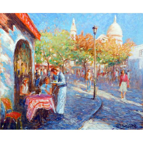 La Bohème à Montmartre