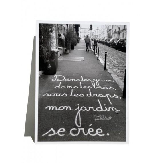 Ma rue par Achbé -Dans tes yeux, dans tes bras, sous tes draps, mon jardin se crée