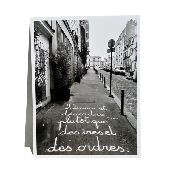 Ma rue par Achbé - DÉSIRS ET DESORDRE PLUTÔT QUE DES IRES ET DES ORDRES