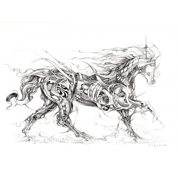Horor - Horse Study 2