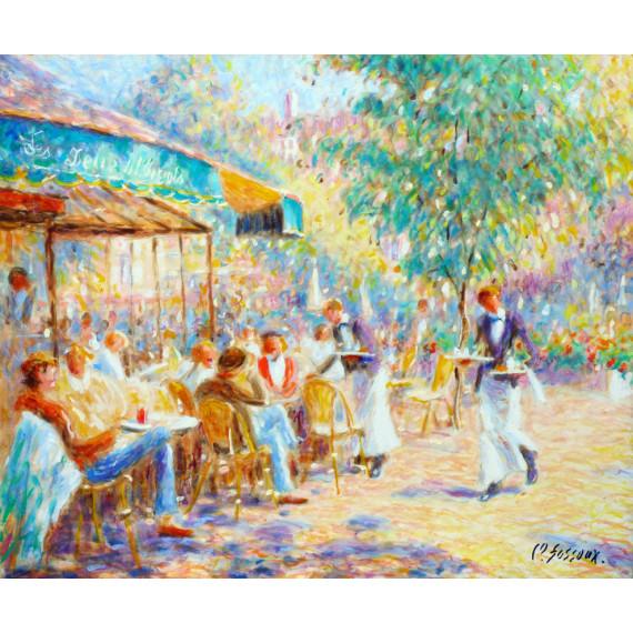 Les Deux Magots, a cafe in Paris