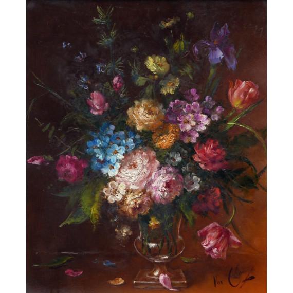 Le Bouquet de fleurs dans un vase