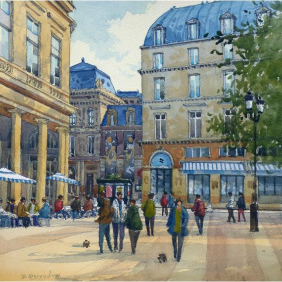 Le Palais-Royal à Paris