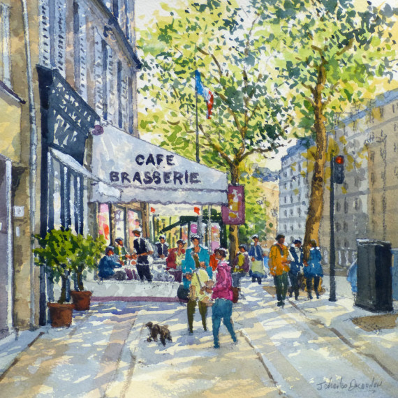 Café Brasserie à Paris
