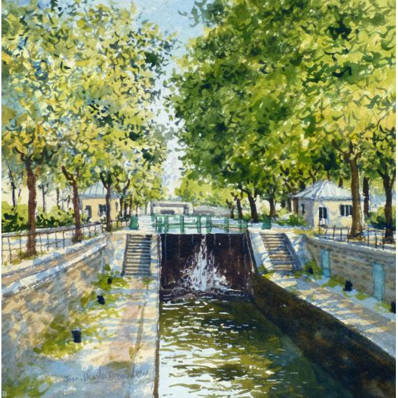 Le Canal Saint-Martin à Paris
