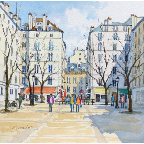 Place Dauphine à Paris