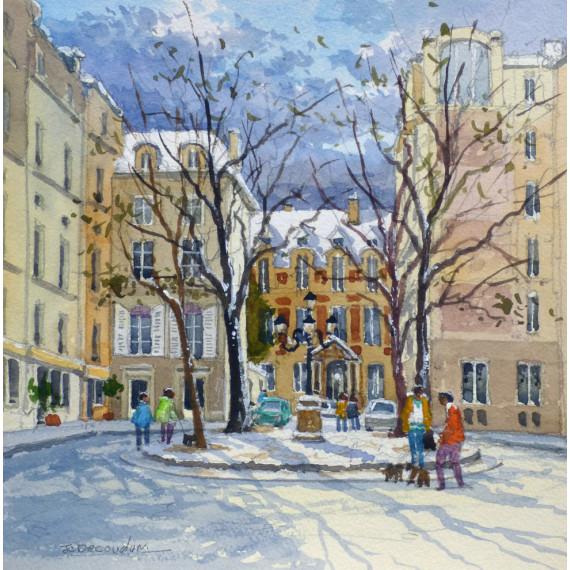 Place de Furstenberg à Paris