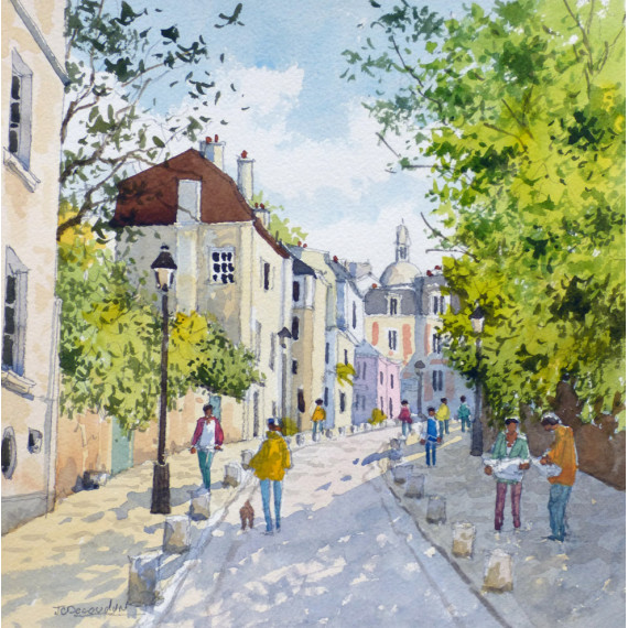 Rue de l'Abreuvoir à Paris