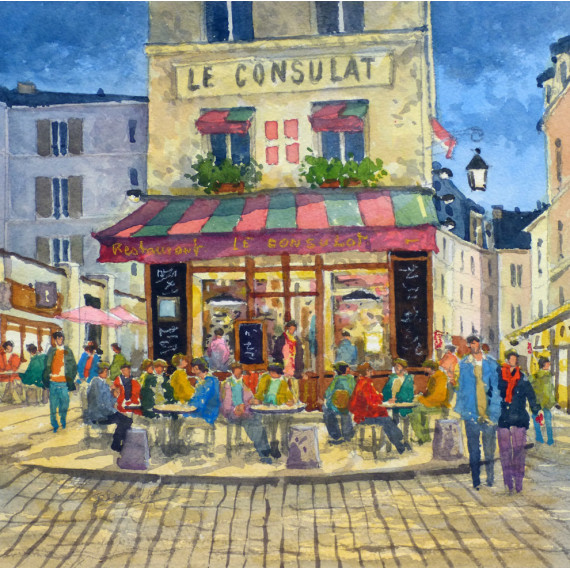 Le Consulat de Savoie, Restaurant à Montmartre, Paris