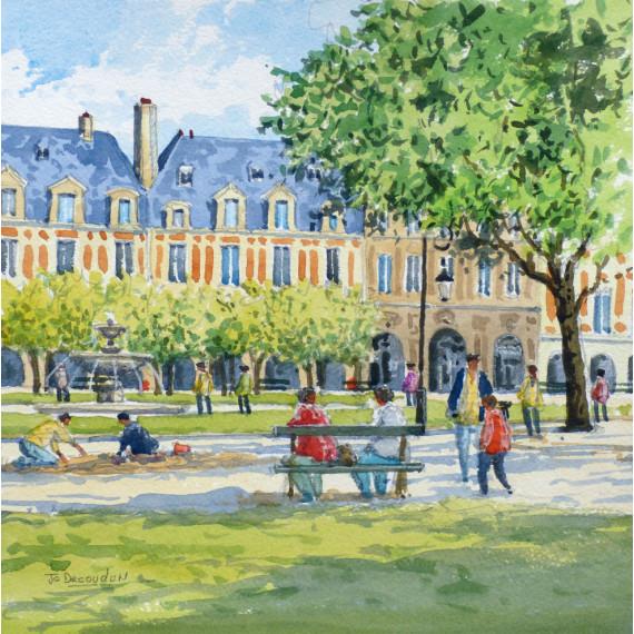 Le Jardin, Place des Vosges, Paris