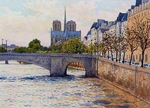 JEAN-CHARLES DECOUDUN - Pont de Paris